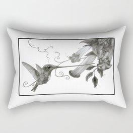 Swordbill Hummingbird Rectangular Pillow