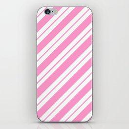 Rose Quartz Peppermint iPhone Skin