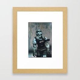 YO JOE Framed Art Print