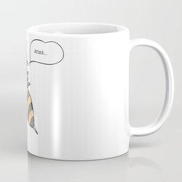 aggressive wasp attacking Coffee Mug