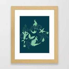MerMama Framed Art Print