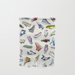 sneakers addiction Wall Hanging