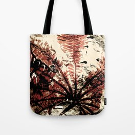 Plant Fossil Tote Bag