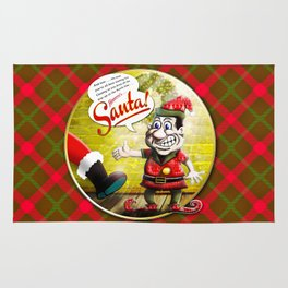 Here's Santa! Rug