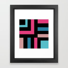Miami Vice Called Framed Art Print