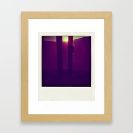 Look at the dust Framed Art Print