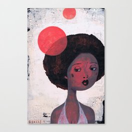 AFRO PSYCHE Canvas Print