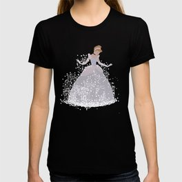 cinderella getting ready for the ball T-shirt