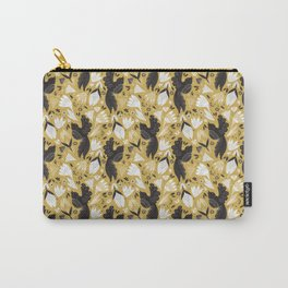 Birds & Bugs in Yellow Carry-All Pouch