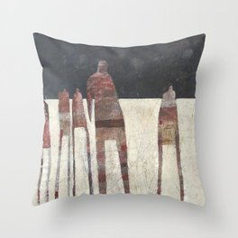 A Day Late Throw Pillow