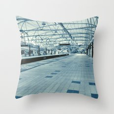LRT Station  Throw Pillow