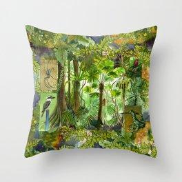Daintree Rainforest Throw Pillow