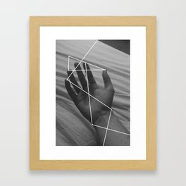 I Don't Think About It Too Much Framed Art Print