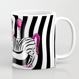 Pink Zebra Dream Coffee Mug