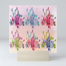 Watercolor Tulips Mini Art Print