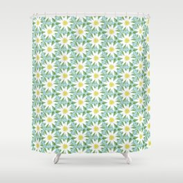 Edelweiss On Repeat Shower Curtain