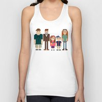gravity falls Tank Tops featuring Gravity Falls 8-bit by Evelyn Gonzalez