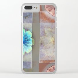 Intercuts Spacing Flowers  ID:16165-035402-83141 Clear iPhone Case