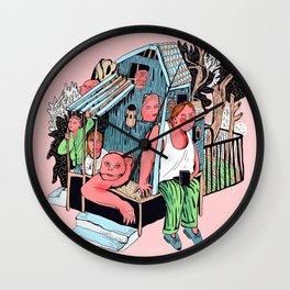 At home Wall Clock