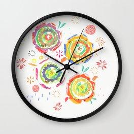 flowers_1 Wall Clock
