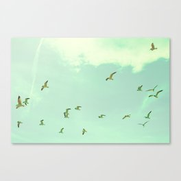 Waves in the Sky Canvas Print