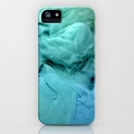 Blue and Green Mist iPhone Case