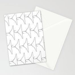 Wire Hanger Stationery Cards