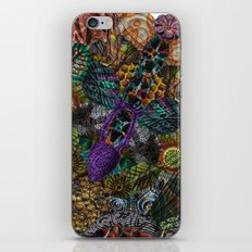 Psychedelic Botanical 12 iPhone & iPod Skin