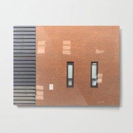 Weird Brick Wall Metal Print