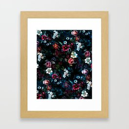 NIGHT GARDEN XI Framed Art Print