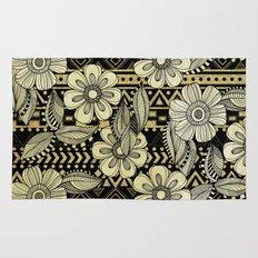 Floral Ink Rug