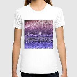 cleveland city skyline T-shirt