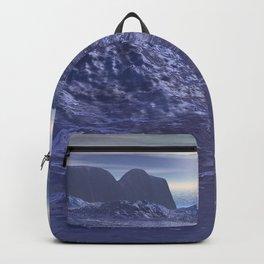 Frozen Sea of Neptune Backpack