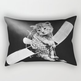The Aviator Cat - Harry Whittier Frees Rectangular Pillow