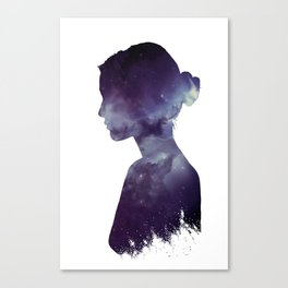 Ballerina Nebula Canvas Print