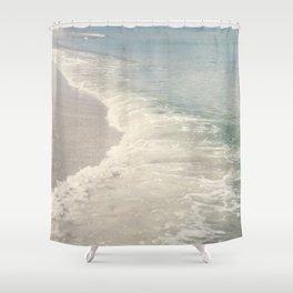 Turquoise Seas Shower Curtain