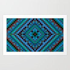 Carpet VIII Modified Art Print