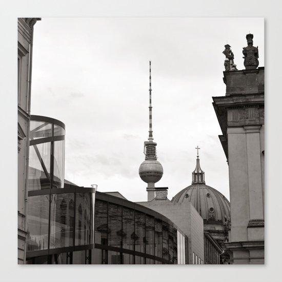 Deutsches Historisches Museum - Teletower - German Dome - Berlin Canvas Print