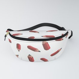 flying pencils (transparent) Fanny Pack