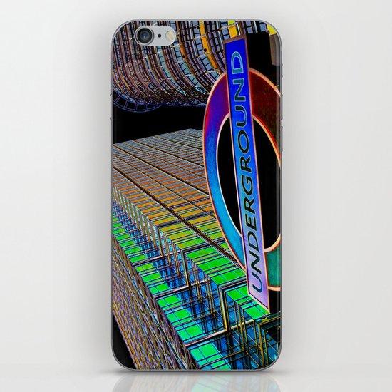 Apocalypse Canary Wharf London iPhone & iPod Skin