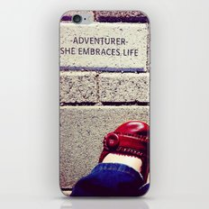 adventurer iPhone & iPod Skin