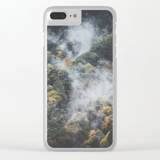 Deep Forest Clear iPhone Case