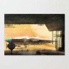 Millennium Falcon Canvas Print