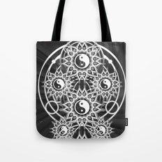 Seven Yin Yang Symmetry Balance Energy Tote Bag