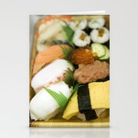 sushi Stationery Cards featuring SUSHI by Sara Ahlgren