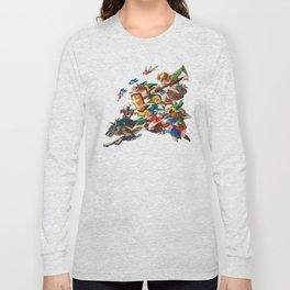Zelda Mash Up Long Sleeve T-shirt