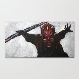 Darth Maul, Sith Apprentice Canvas Print