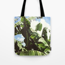 Banana Tree Leaf - Relax in Nature Tote Bag