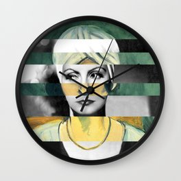 "Matisse's ""Woman in Turban"" & Greta Garbo Wall Clock"