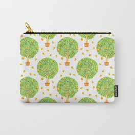 Pear Tree Pears Pattern Carry-All Pouch